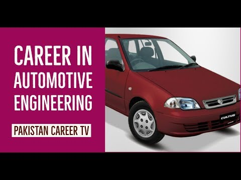 Career In Automotive Engineering