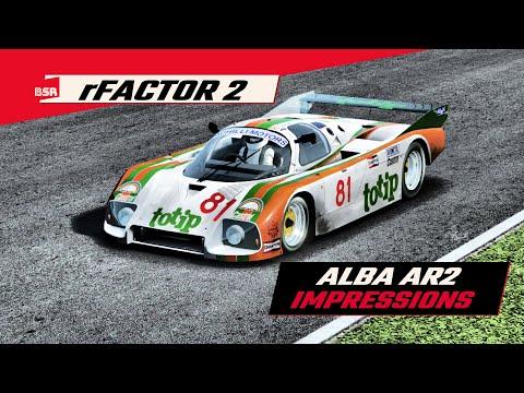 rFactor 2 - Alba AR2 Impressions |