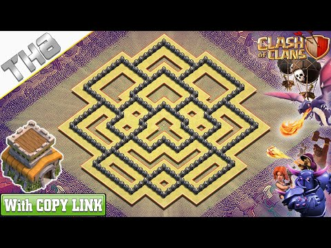 NEW BEST! Town Hall 8 (TH8) War Base 2020! TH8 Base With COPY LINK - Clash Of Clans