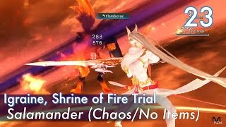【Tales of Zestiria English】Part 23 : Salamander (Chaos/No Items), Igraine Shrine of the Fire Trial
