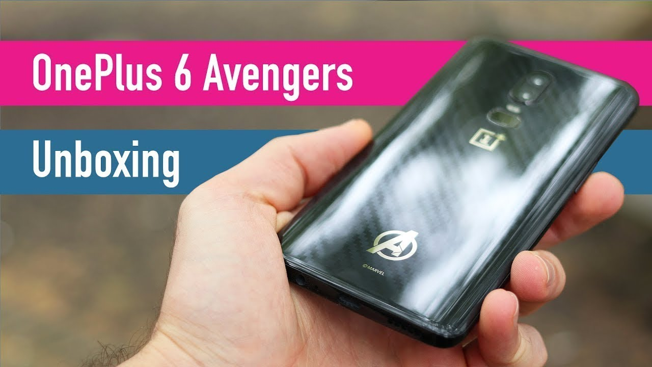 OnePlus 6 Avengers: Infinity War unboxing + pricing