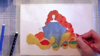 31 Ирина Колобова Урок рисования Праздник осени