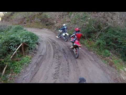 Honda xr  vs Honda crf rally vs Yamaha xt  r Frassineto