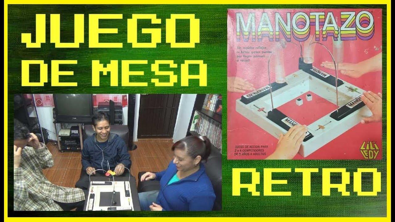 Juego De Mesa Retro Manotazo De Lili Ledy Youtube