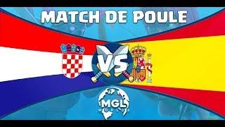 CRWORLDS ESPAGNE vs CROATIE MATCH DE POULE ! Feat BLAZER