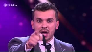 Verleihung Goldene Kamera 2016 an Edin Hasanovic