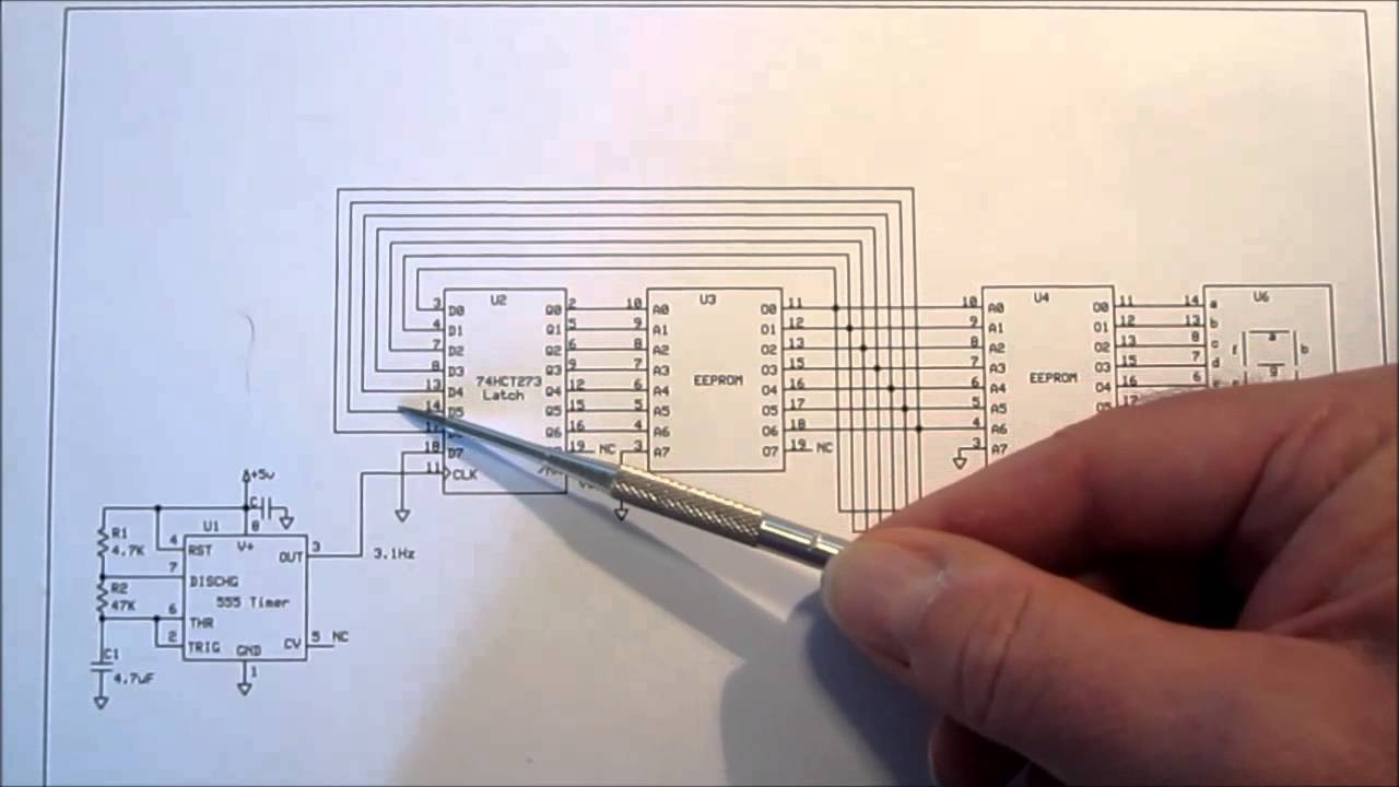 7 Segment Display Counter Youtube Circuit