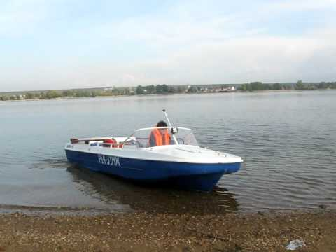 моторная лодка 'Обь-5'