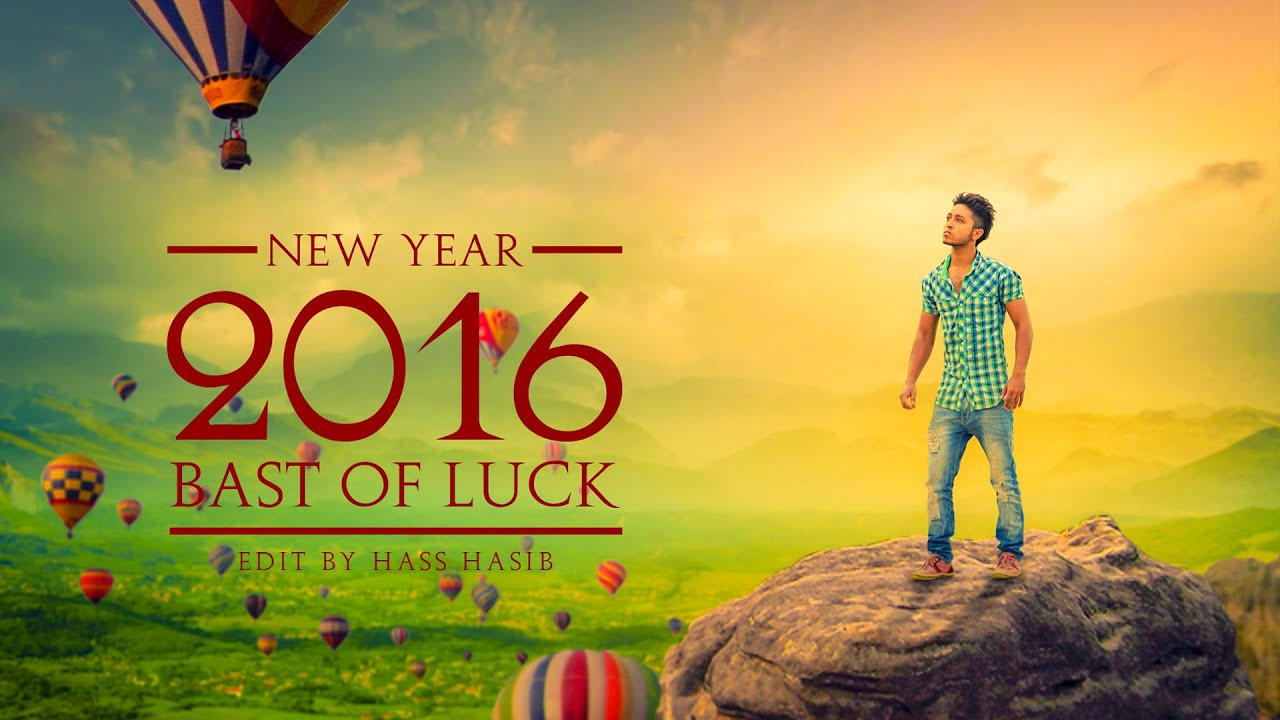 Photoshop tutorial new year 2016 photo manipulation in photoshop photoshop tutorial new year 2016 photo manipulation in photoshop effects youtube baditri Gallery