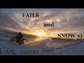 Winter Is Fun 2! - Suzuki RM, Kawasaki KMX - Bad Ass Crashes And Fails!