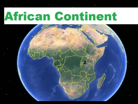 Africa - african continent in hindi