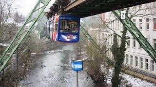 Schwebebahn Wuppertal - Monorail - Suspension railway