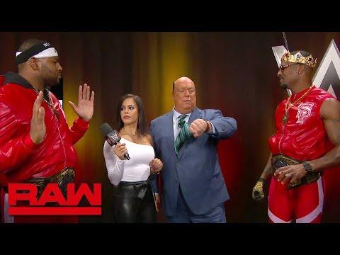 The Street Profits meet Paul Heyman: Raw, July 1, 2019