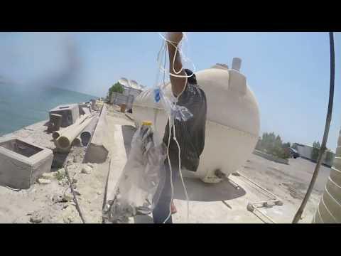 My Cast Net Fishing in Kuwait 21-07-2017 Gopro 4k Video Shoot