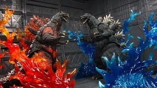Tamashii Effect Burning Flame Red and Blue