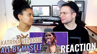 Katrina Velarde - All By Myself   The MusicHall Metrowalk   REACTION