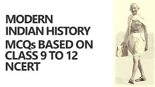 modern indian history lectures for ias