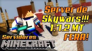 Server de Skywars 1.7.2 100 % SEM LAG! + Partidas! (OBS: SOU MT BOM)!!!