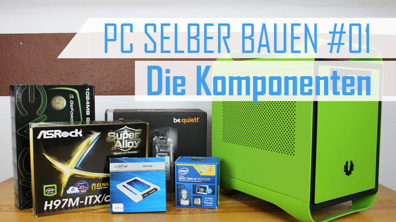 750 mini itx gaming pc bauen 2015 01 komponenten youtube. Black Bedroom Furniture Sets. Home Design Ideas