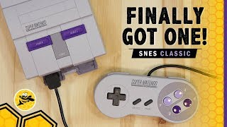 SNES Classic Edition First Impressions, Unboxing and Quick Walkthrough
