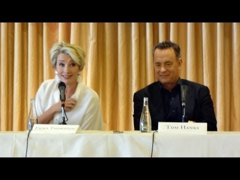 """Saving Mr  Banks"" Press Conference with Emma Thompson, Tom Hanks and Cast at Beverly Hills Hotel"
