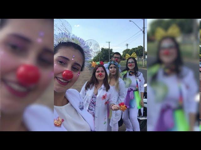 Projeto Enfermeiros do Riso - Comemoração de 1 ano