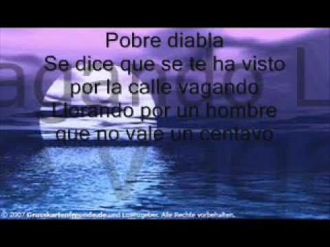 Don Omar- Pobre Diabla (lyrics) - Spanish/German/ Englisch