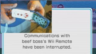 i rage and break a wii remote in half on wii sports resort ping pong