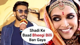 Ranveer Singh On Life After Marriage With Deepika Padukone   SIMMBA Movie Trailer Launch