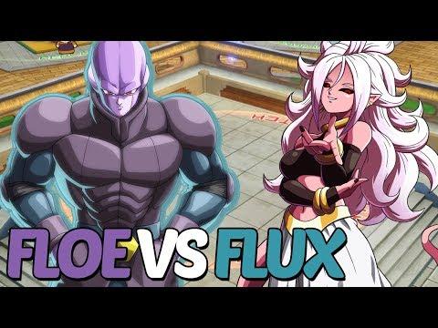 Floe (Beerus, Hit, Goku Black) vs. Flux (Android 21, Cell, Frieza) - DBFZ