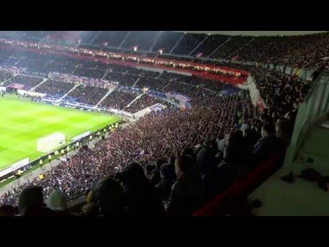 "Lyon-psg 2-1   28/02/16  chant ""Supporters Lyonnais"""