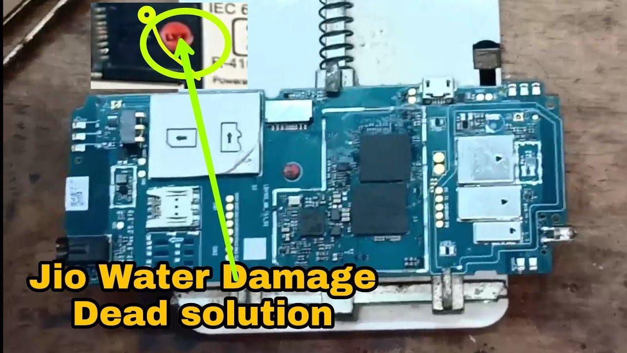 Jio Phone Water Damage Dead Solution || Jio lyf F90m Water Damage