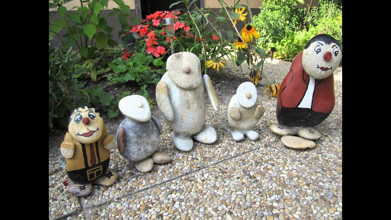 Kerti szobrok készítése házilag