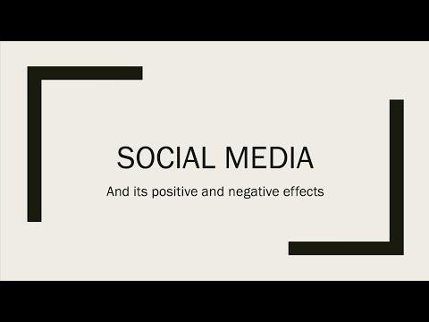 Negative influence of social media pdf