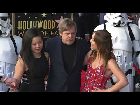 Mark Hamill gets a star on Hollywood Walk of Fame, with support from 'Star Wars' co-star Harrison