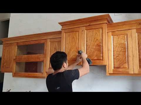 Mẩu Tủ Bếp Nhỏ Ma đẹp 0961238175 Installing Kitchen Cabinets For Small Kitchen