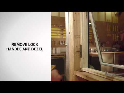 Lock Replacement on Andersen® 400 Series Awning Windows