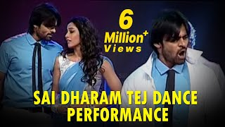 Sai Dharam Tej Dance Performance On Chiranjeevi Medley Songs @ Subramanyam For Sale Audio Launch