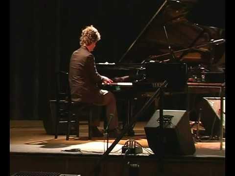 Greg Wells' improv. piano solo, Humber College, Toronto