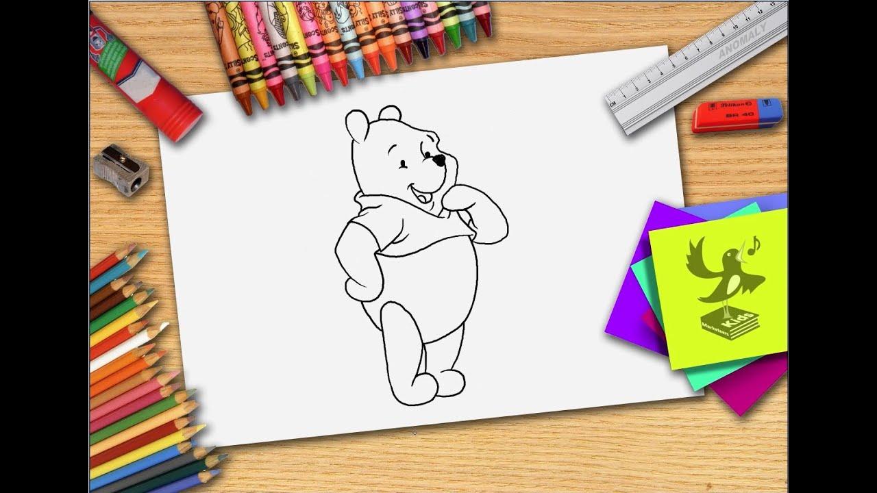 hoe teken je winnie de poeh zelf winnie de pooh leren