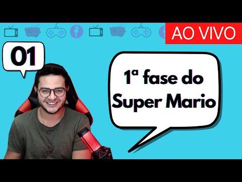 🎮Live Gamer: Jogando SUPER MARIO WORLD ao vivo ( primeira fase )   EldoGameDay #01