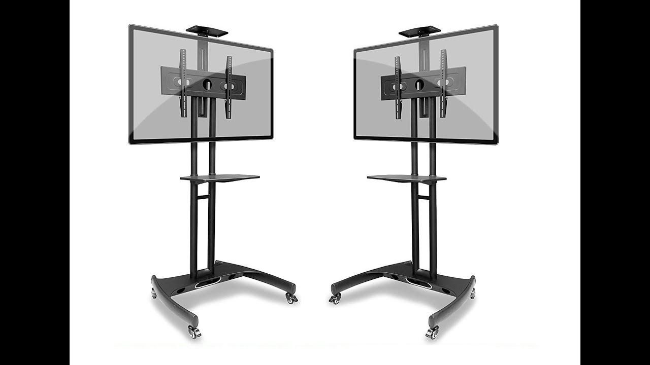 Soporte de piso pedestal importado para televisores for Mueble con soporte para tv