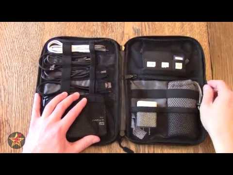 BAGSMART Travel Universal Cable Organizer Electronics Accessories Cases Review