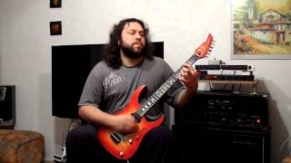 Anastacia- Left outside alone- guitar metal cover