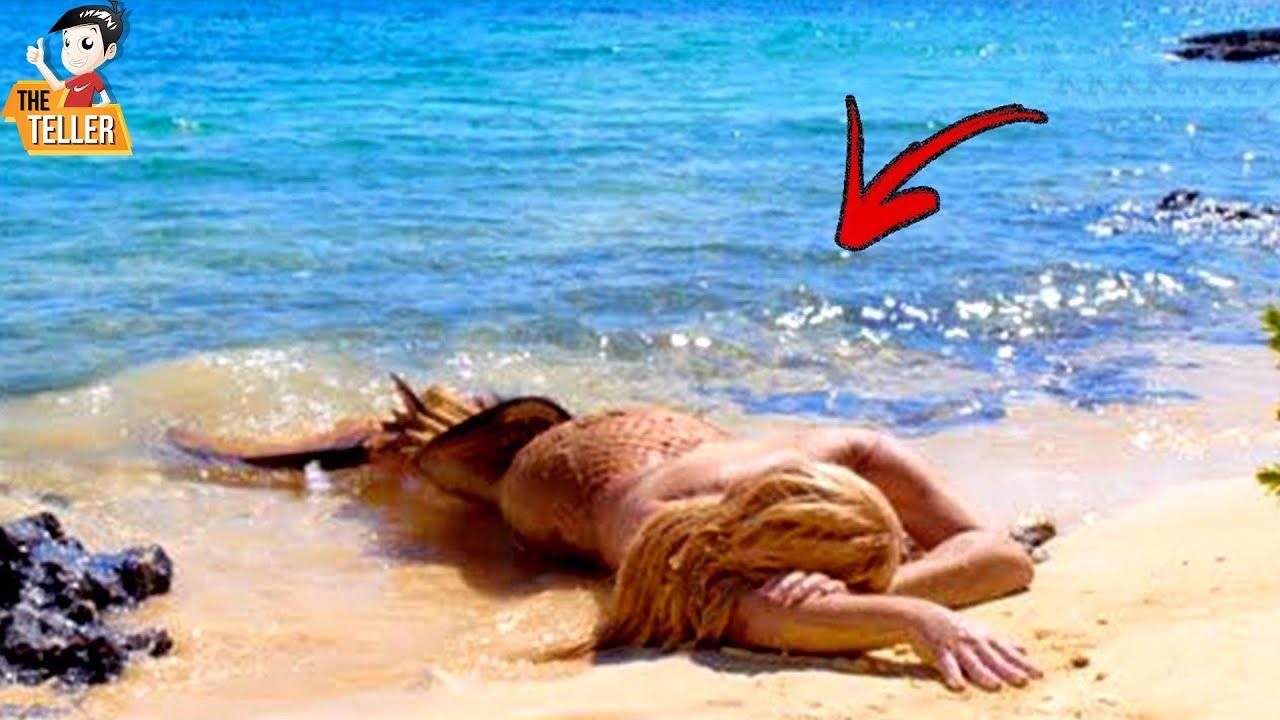 เขาเจอนางเงือกบนชายหาด .. แล้วสิ่งนี้ก็เกิดขึ้น
