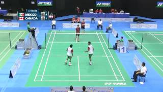 XXIV PAN AM JUNIOR CHAMPIONSHIP BADMINTON DAY 03