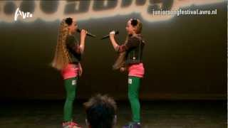 Mylene en Rosanne - Spiegelbeeld | Auditie Junior Songfestival 2013