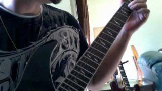 How to play Metallica, fade to black intro guitar solo,by Steve Lashuk