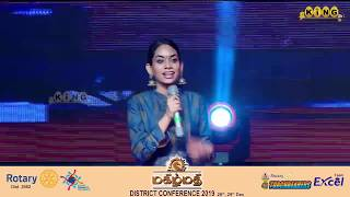 """""""Rowdy Baby"""" Dhee Live Singing - மகிழ்மதி  