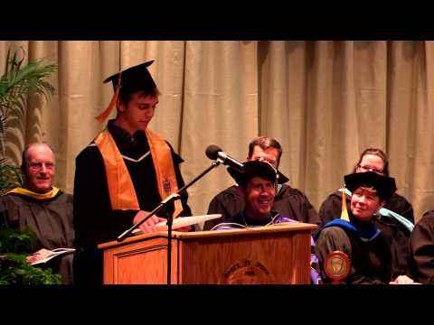 Landmark College Commencement, December 2014 (selected clips)